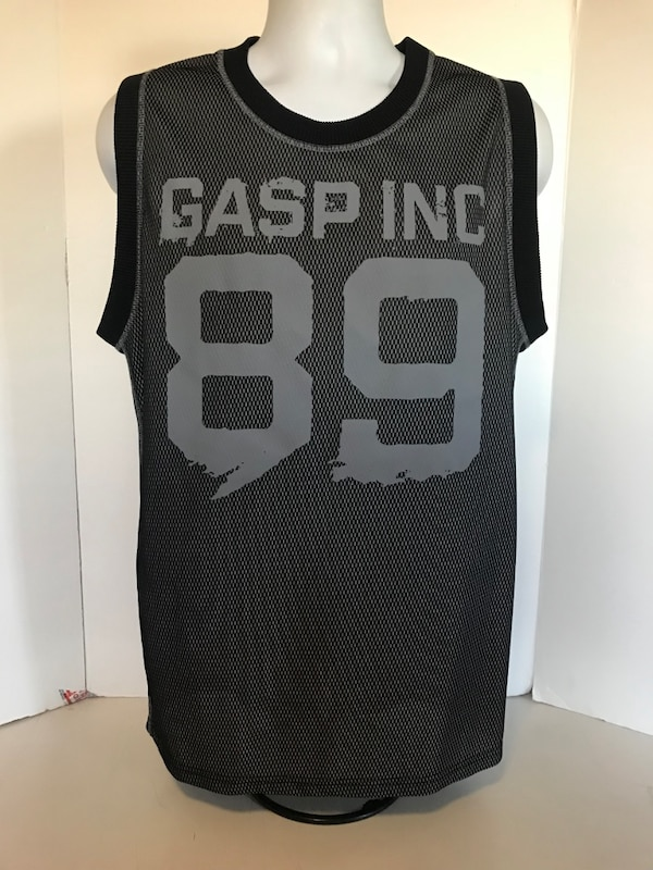 777a0a3736 Used GASP INC. Basketball Jersey Workout Gym Shirt Bodybuilding Sleeveless  Tank M for sale in Long Beach