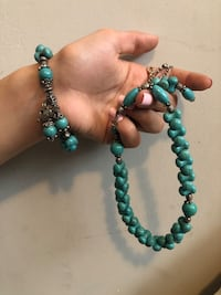 Price is negotiable. A very stunning set of necklace and bracelet good energy and it is perfect for events Toronto, M1P 3B8