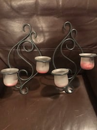 Wall candle holders 1959 km