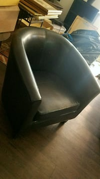 black leather chair Arvada, 80005