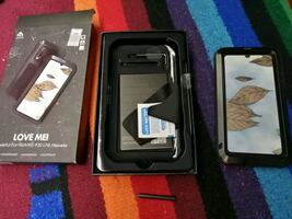 Huawei P30 lite hard case, steel and rubber!
