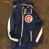 Cubs Mitchell and Ness windbreaker jacket  Chicago