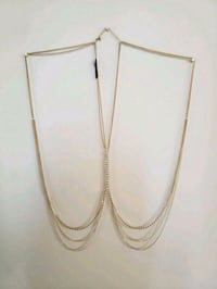 *New* Womens Cross Body Chain Necklace From Bebe   Mississauga, L5A 3X3