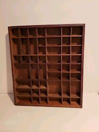 Wood Hanging Display Case - 49 Compartments  Minneapolis, 55438
