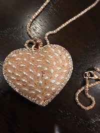 New Fashionable Heart Necklace San Jose, 95138