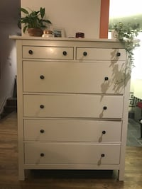 Used IKEA Hemnes 6 drawer dresser in white Washington, 20002