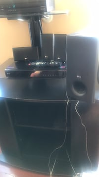 Black LG home theater system Alexandria, 22314