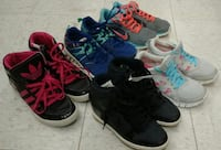 (83) Sneakers for girls size 6 Youth