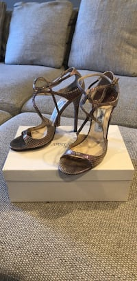 Jimmy Choo Lance pearlized dusty pink size 40 Washington, 20010