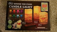 New Winnie the Pooh Candle Lights with Remote Mission