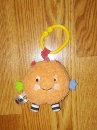 """Sassy Carseat/Stroller Toy Makes """"Boing"""" Sound"""