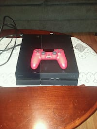 Ps4 500gb console with red controller Greensboro, 27408