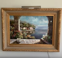 Authentic Oil Painting with frame Marietta, 30066