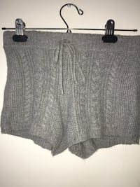 Grey wool knitted booth shorts  Burnaby, V3J 0A4