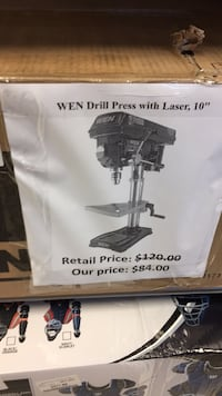 wen drill press with laser  San Leandro, 94579