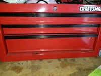 red and black Craftsman tool chest Tipp City, 45371