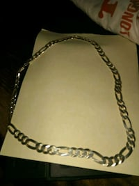 """Silver figaro link chain 130 grams 26"""" Brownsville, 78521"""