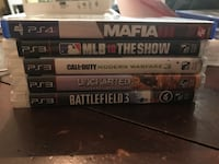 four Sony PS3 game cases Pittsburg, 94565