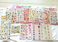 Stickers/ Sticker Sheet ( #5 ) Singapore, 168731