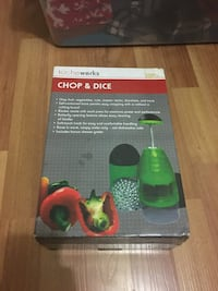 Chop and dice new never used Surrey, V3S 5P8