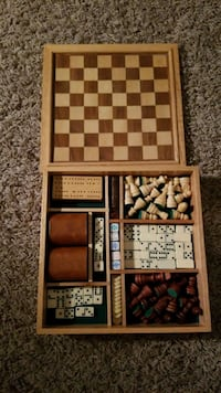 Chess, Backgammon, Dominoes, and More Mars, 16046
