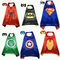 $10 EACH - BRAND NEW SUPER HEROES COSTUME FOR KIDS Aiea, 96701