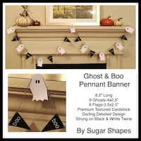 New Custom Ghost Boo Banner Farmers Branch, 75244