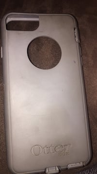gray Otter iPhone rear case