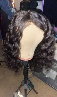 Never worn 18 inch brazillian lace front wig