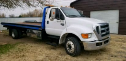 2008 F650 Tow Truck