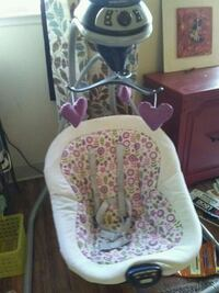 baby's white and pink cradle and swing Napa, 94558