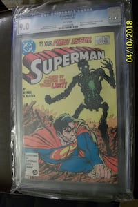 SUPERMAN (1987) #1 CGC 9.0 WHITE PAGES ORIGIN 1ST APP NEW METALLO JOHN BYRNE Vaughan