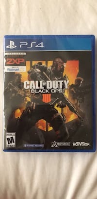Call Of Duty Black Ops 4 PS4 SEALED Garden Grove, 92840
