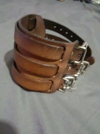 Leather cuff  Vancouver, V5R 6G7