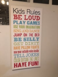Children's canvas wall art  Brampton, L6Y 5R7