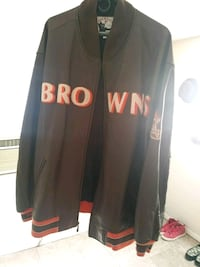 CLEV Browns Leather jacket Bartow, 33830