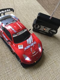 NISSAN Red and white & black Super 500 GT  car / Radio Control Race Car 4 Speed full function Alexandria, 22311