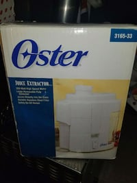 white Oster juice extractor Surrey, V3W 8J8