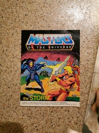 Masters of the universe. He-Man mini comic book
