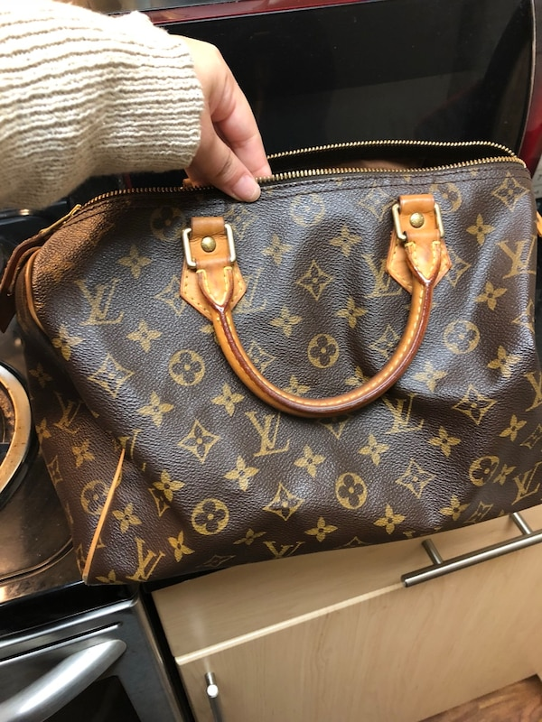 Used Louis Vuitton Bags >> Authentic Used Louis Vuitton Speedy Bag
