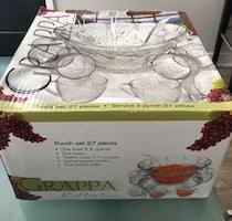 Grappa 27 pieces punch set