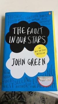 The Fault In Our Stars John Green Paperback Madison, 39110