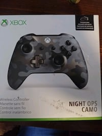 XBOX NIGHT OPS CAMO WIRELESS CONTROLLER