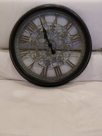 "24"" Oversized metal clock with roman numerals Coral Springs, 33321"
