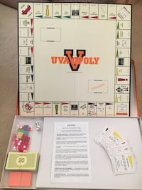 UVAopoly board game Annandale, 22003