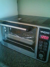 stainless steel Waring oven toaster with 12:00 display Albuquerque, 87104