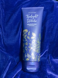 Bath and body works body cream Twilight woods