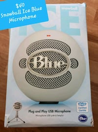 Snowball Ice Blue Microphone 554 km