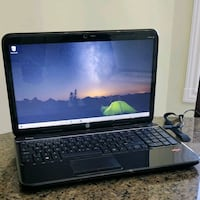 "HP laptop 15.6"" great condition $300 obo 2.7 GHz 550 GB 8gb ram AMD Mississauga, L5R 3V1"