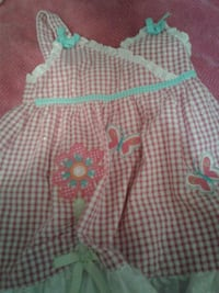 Little Girls dress with Butterflies